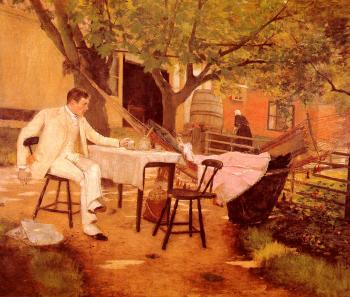 Sunlight and Shadow - William Merritt Chase