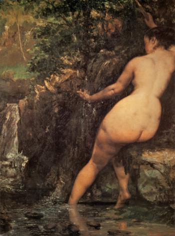 The Source - Gustave Courbet