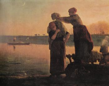 The Washerwoman - Jean François Millet