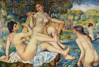 The Bathers - Pierre-Auguste Renoir