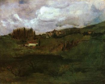 Tuscan Landscape - John Henry Twachtman