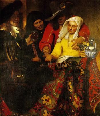Procuress - Johannes Vermeer