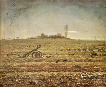 Winter Landscape - Jean François Millet