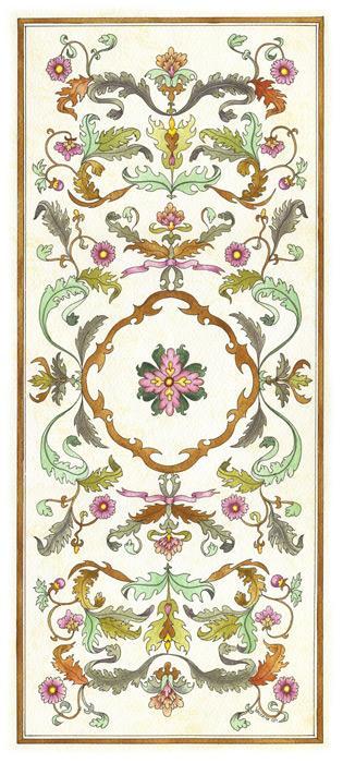 Floral Panel II - Vessela