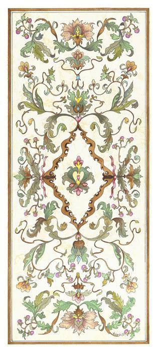 Floral Panel I - Vessela