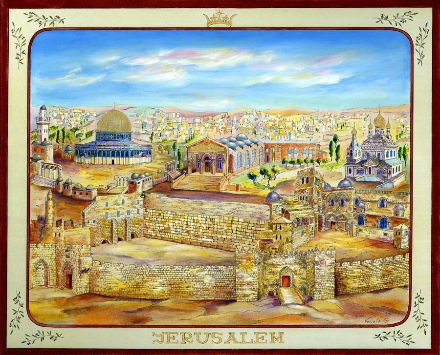 Jerusalem - Vessela