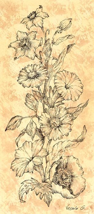Wild Flowers II - Vessela