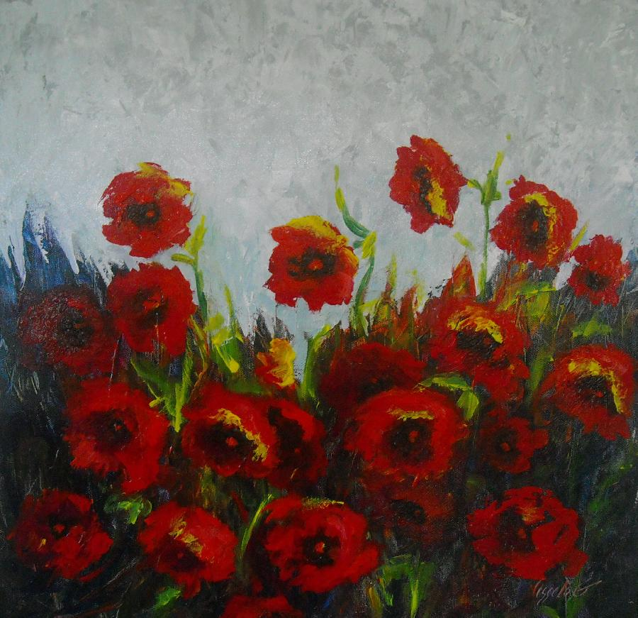 Poppies A - Vessela