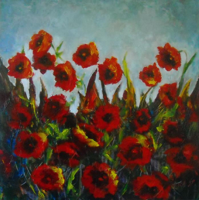 Poppies B - Vessela
