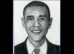 Barack Obama Drawn Step By Step 1