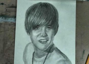 How to Draw Justin Bieber Step by Step - Merrill Kazanjian
