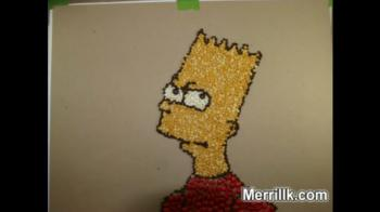 Bart Simpson- Made With Beans - Merrill Kazanjian