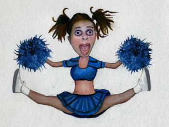 Psycho Cheerleader - Merrill Kazanjian