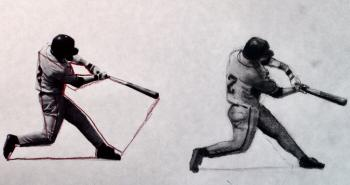 How to Draw a Baseball Player Step by Step - Merrill Kazanjian