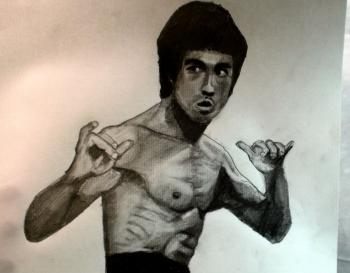How to Draw Bruce Lee Step by Step - Merrill Kazanjian