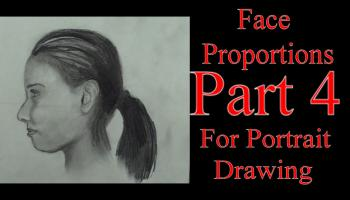 Proportions of the Human Head/Face For Portrait Drawing Part 4 - Merrill Kazanjian