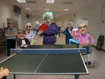 Ping Pong Party - Merrill Kazanjian