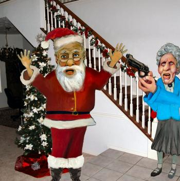 Santa Claus: Master Burglar, Caught in the Act - Merrill Kazanjian