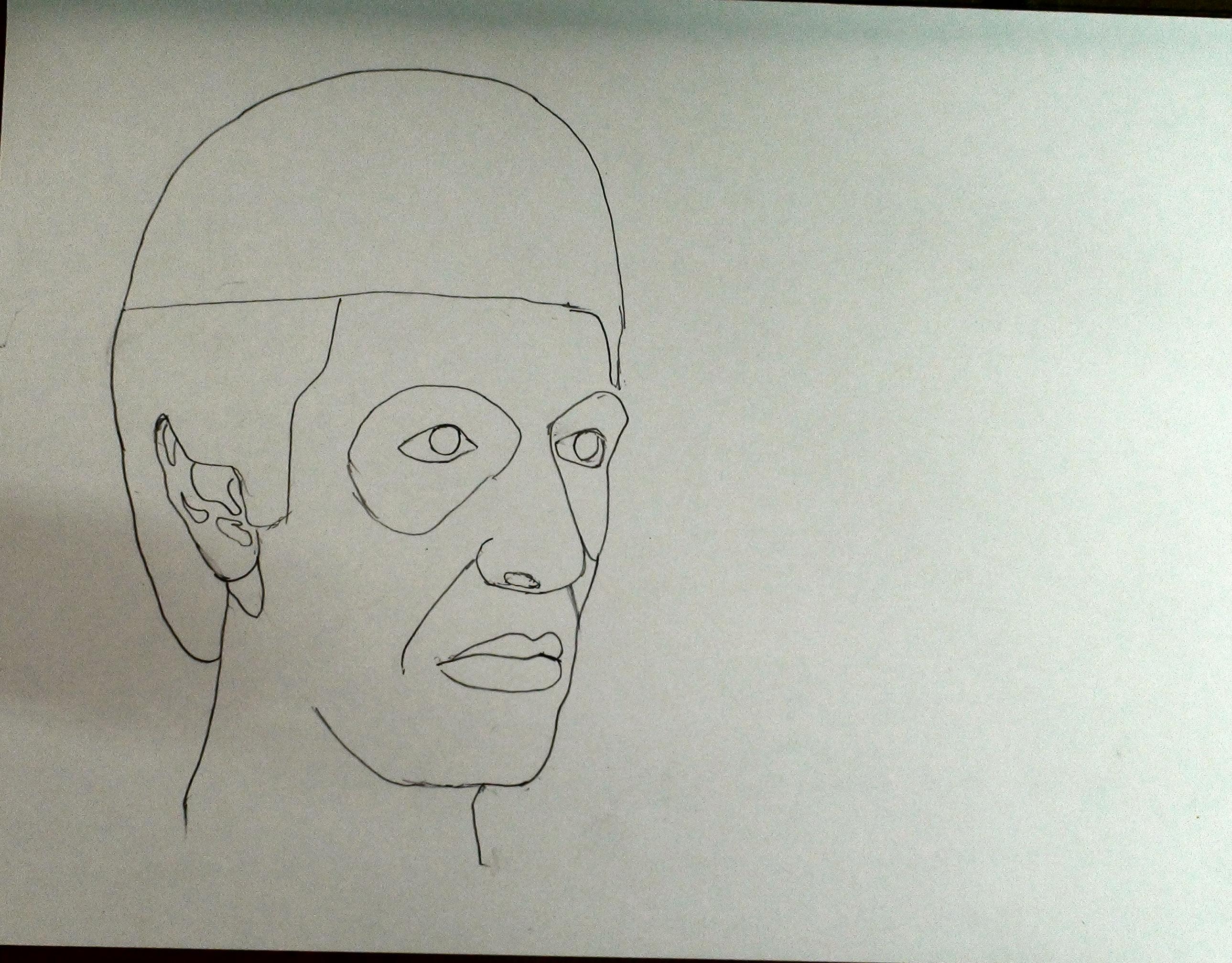 draw scarface step 10