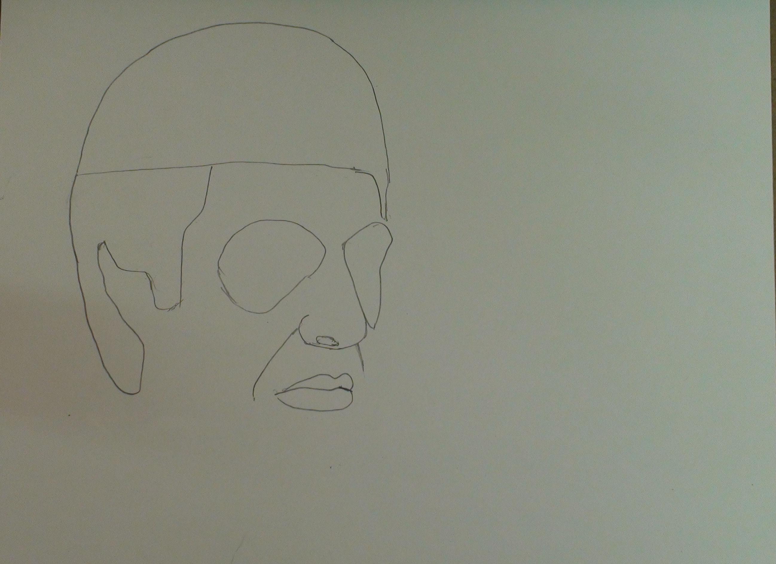 draw scarface step 6