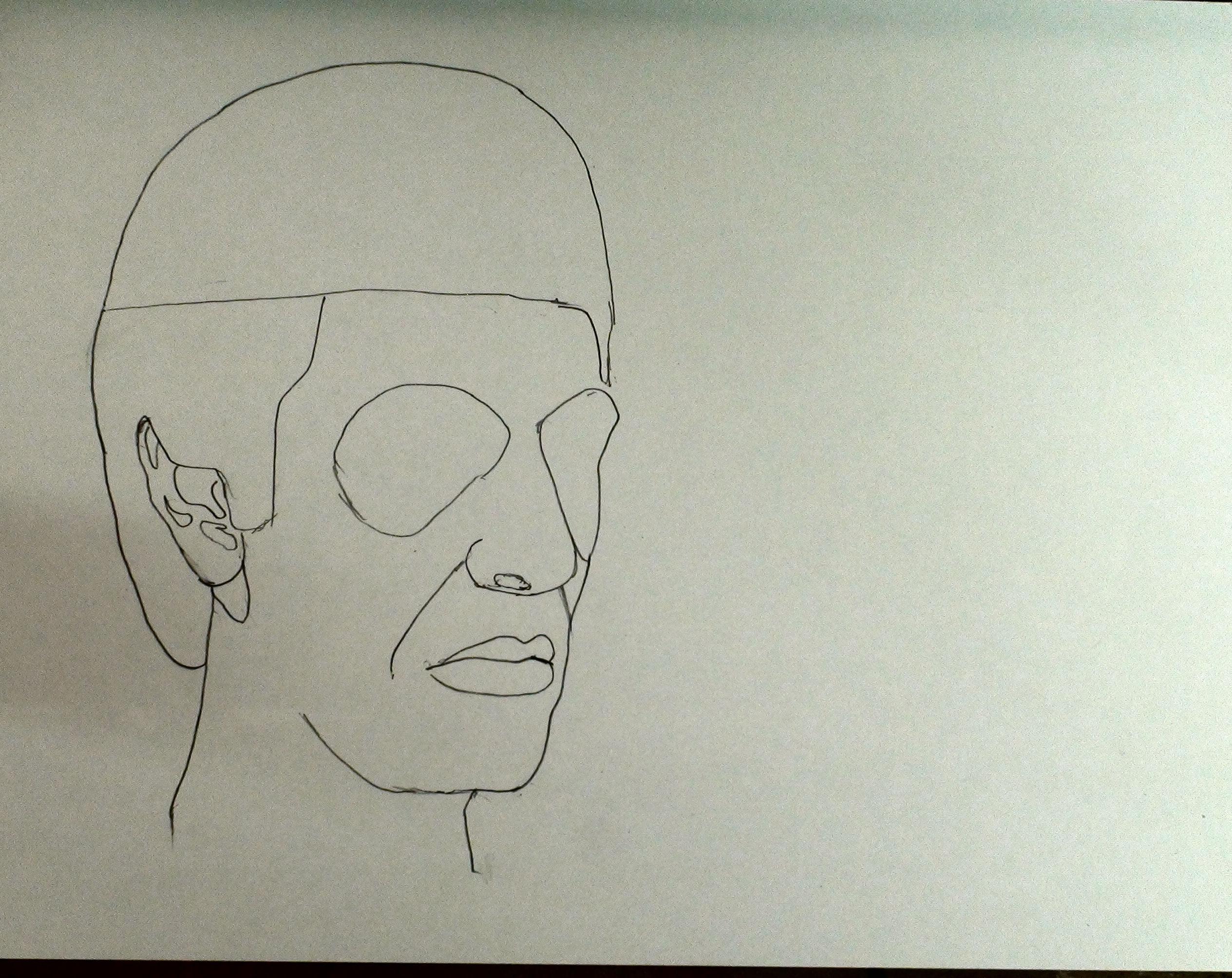 draw scarface step 9