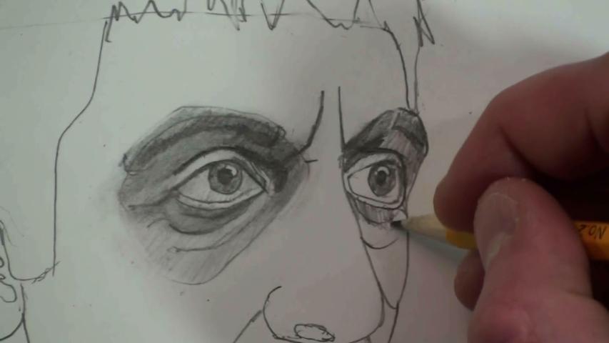 left eye 2