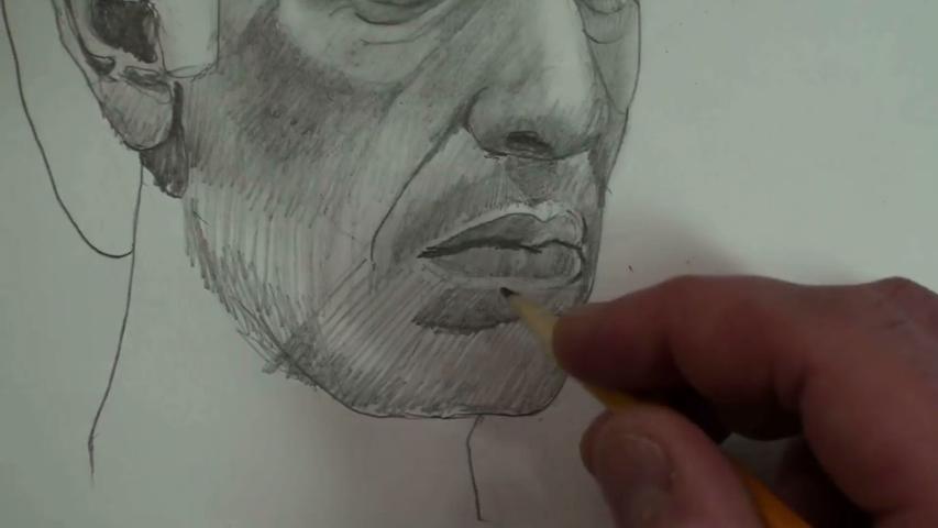 Scarace lower face 1