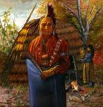 Shinnecock Indian Man - 18th Century