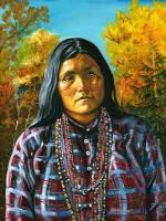 Tsekan, Chiricahua Apache Woman Warrior