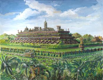 The Palace at Agacoe: Atlantis, 10,000 B.C. - David Martine