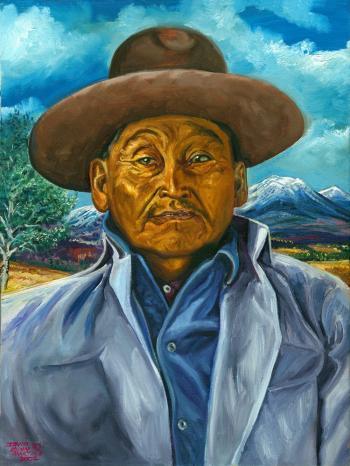 Charles Martine Sr. , Chiricahua Apache Scout - David Martine