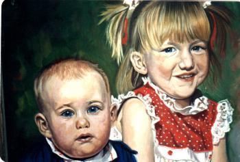 Oil on canvas, 1980's - David Martine