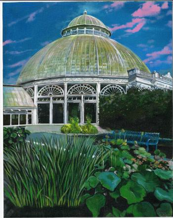 New York Botanical Gardens Greenhouse - David Martine