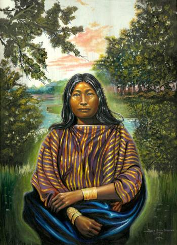 Northern Plains Woman - David Martine