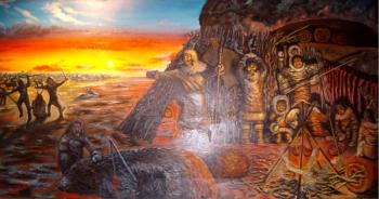 Palio-period, Shinnecock Nation Museum - David Martine