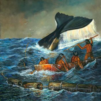 Powdawe -Shinnecock Whale Hunt of the 17 Century - David Martine