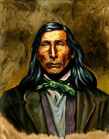 Steven Talkhouse Pharoah - Montuak Leader, Ca. 19th Century - David Martine