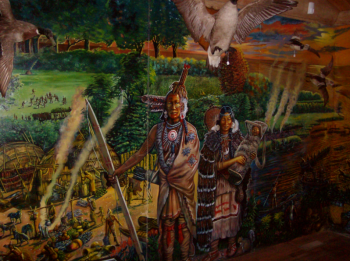 Woodland Period, Shinnecock Nation Museum - David Martine