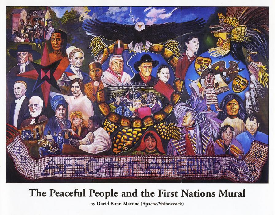 The Peaceful People and First Nations Mural