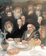A Tish in Antwerp (Pshevorsk) #3384   (Carl Braude) - Rabbis