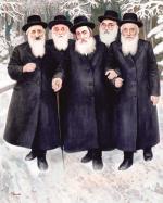 Vishnitz Dynasty #4211  (Carl Braude) - Rabbis