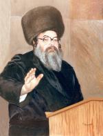 Belzer Rebbe #4239  (Carl Braude) - Rabbis