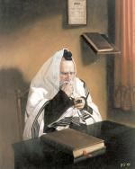 R' Moshe Davening #5864  (Stephan Zanger) - Rabbis