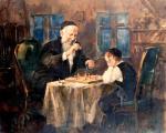 Chess with Zeide #6954  (Theodor Tolby) - Jewish Life