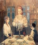 Candle Lighting #7501  (Theodor Tolby) - Shabbos and Holidays