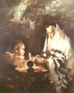 The Scholar's Dream   #7531  (Theodor Tolby) - Torah Learning