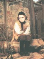 Jewish Boy #7548   (Ivan Kramskoy) - Jewish Life