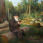 The Rabbi (Lev Simcha of Gur)#BD1057  (Boris Dubrov) - Rabbis