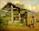 The Well #BD1048   (Boris Dubrov) - Jewish Life