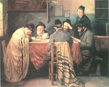 Early Morning Learning #7546  (Adolf Messer) - Torah Learning